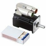 Kollmorgen AKM1 DC Servo Motor Low Voltage Size Comparison