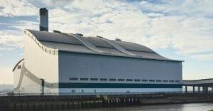 Cory Riverside Energy plant at Belvedere East London