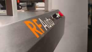 The small footprint of the RF Auto allows it to easily moved between production lines