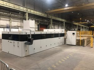 Global stainless steel manufacturer boosts production with new laser installation